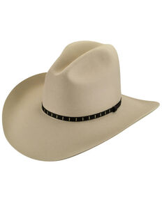 Bailey Men's Elbridge 3X Premium Wool Felt Cowboy Hat, Silverbelly, hi-res