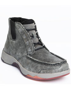Cody James Men's Chelsea Boots - Moc Toe, Grey, hi-res