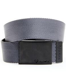 Hawx Men's Plain Charcoal Web Belt, Charcoal, hi-res