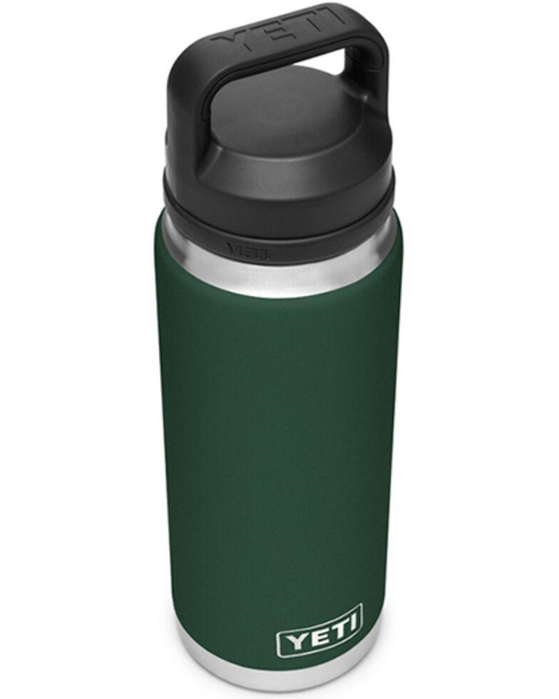 Yeti Rambler 26oz Green Chug Bottle, Dark Green, hi-res