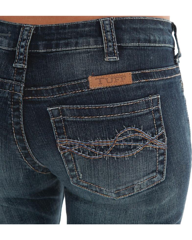 Cowgirl Tuff Women's Dark Wash Don't Fence Me In Jeans , Indigo, hi-res