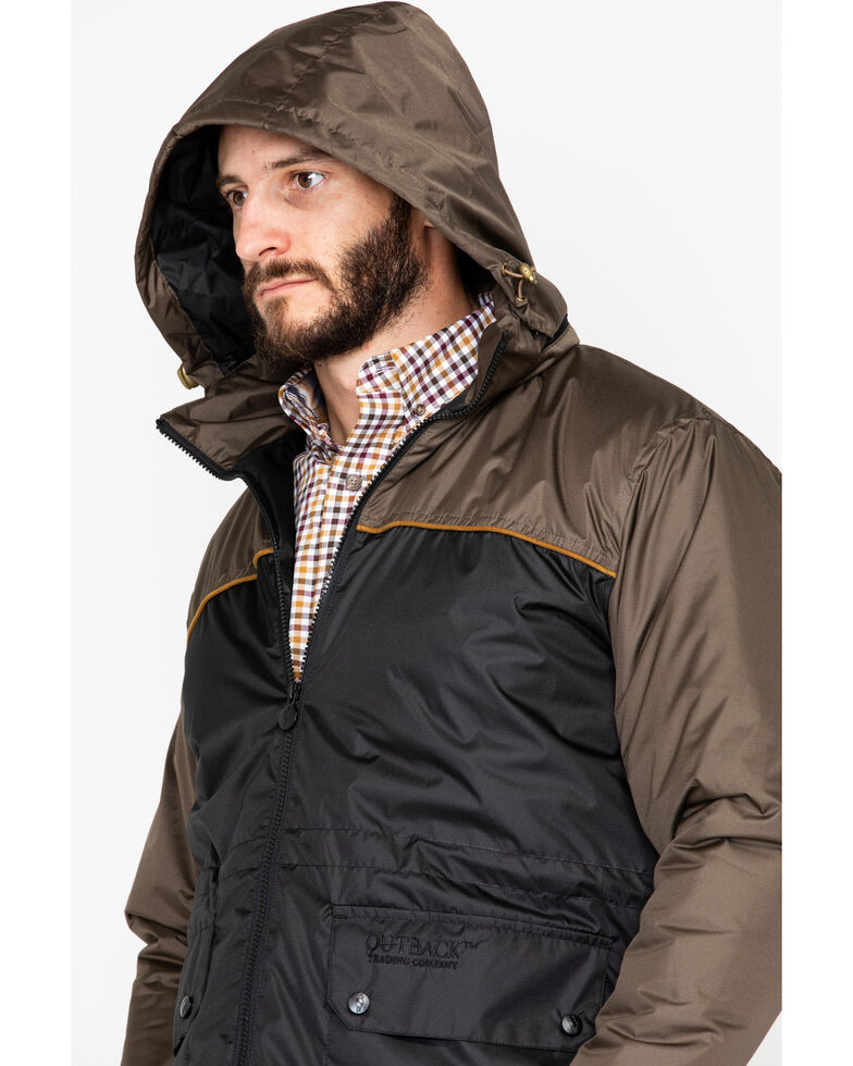 Outback Trading Co. Men's Jericho Quilted Jacket , Grey, hi-res