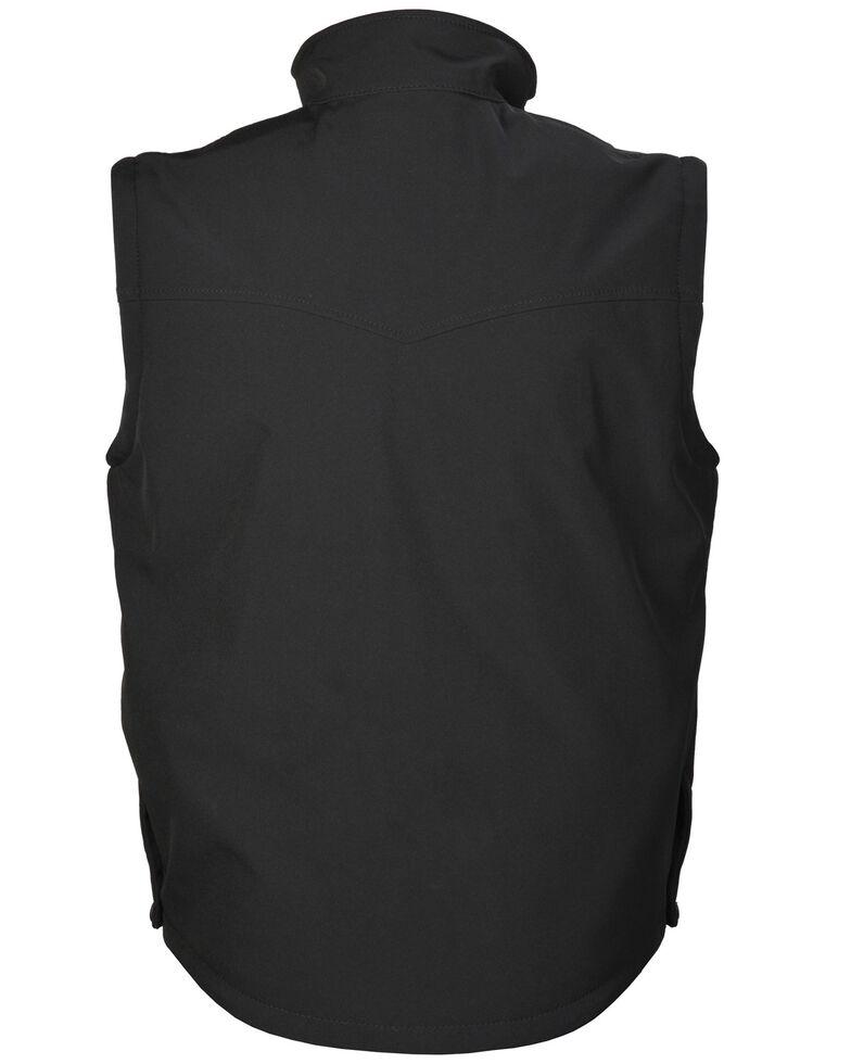 STS Ranchwear Men's Dark Heather Barrier Vest - Big  , Black, hi-res