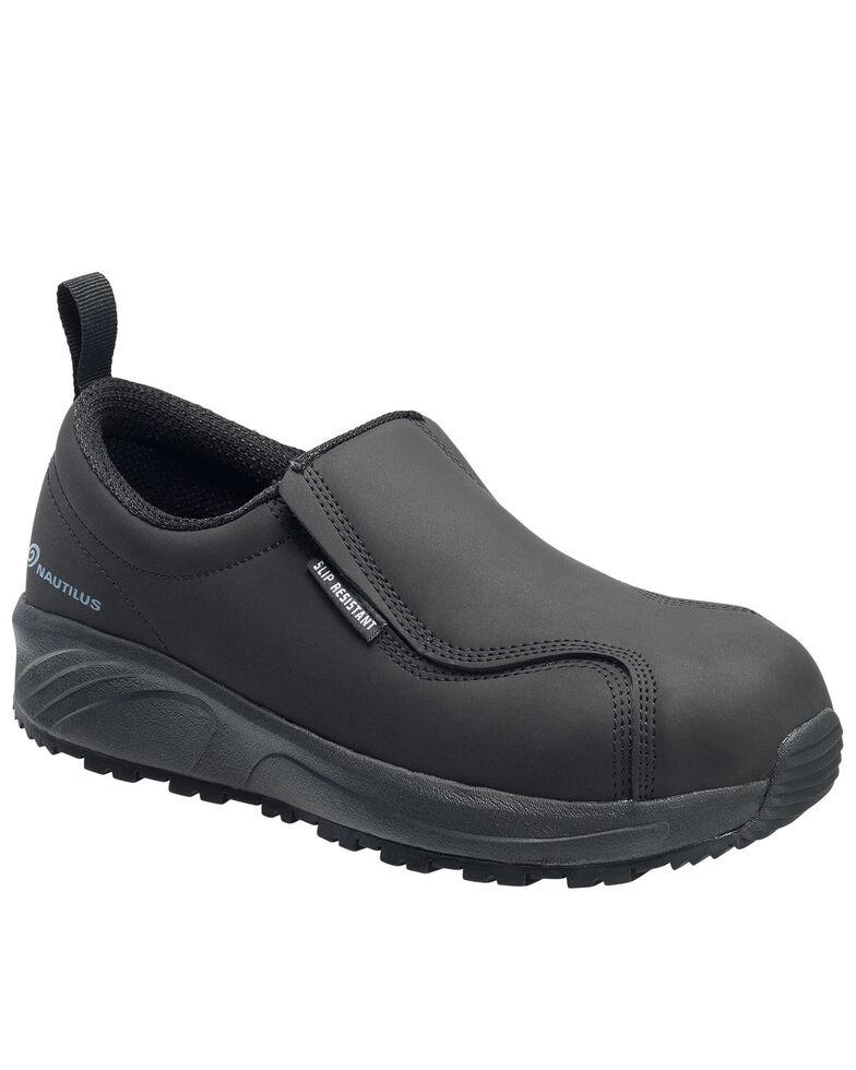 Nautilus Women's Black Guard Work Shoes - Composite Toe, Black, hi-res