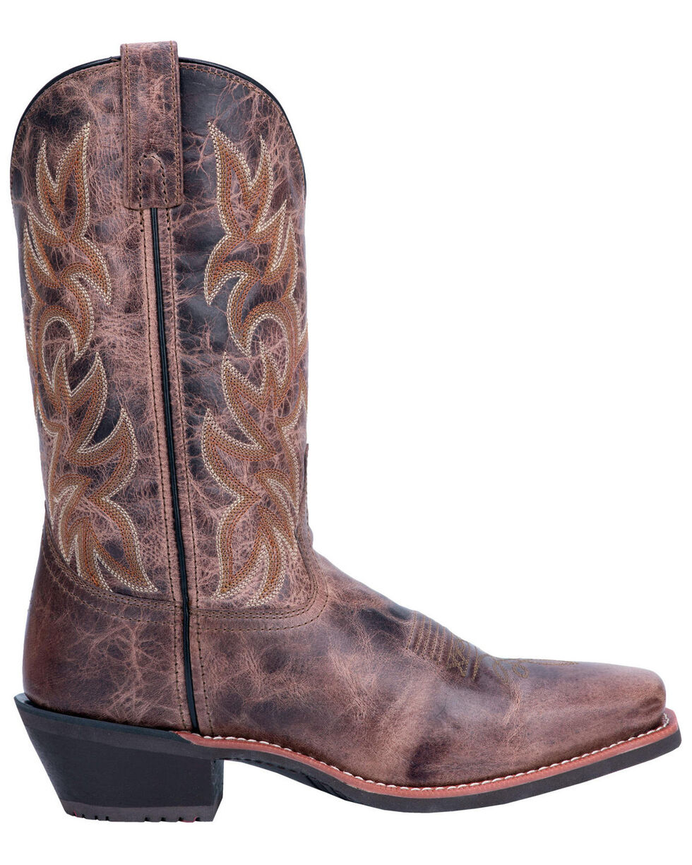 Laredo Men's Breakout Western Boots - Square Toe, Brown, hi-res