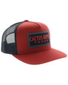 7d5a2ecd4e01c2 HOOey Men's Red & Blue Cactus Ropes Patch Cap