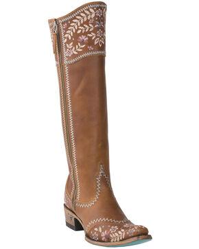 Lane Women's Landrun Women's Western Boots - Snip Toe, Tan, hi-res