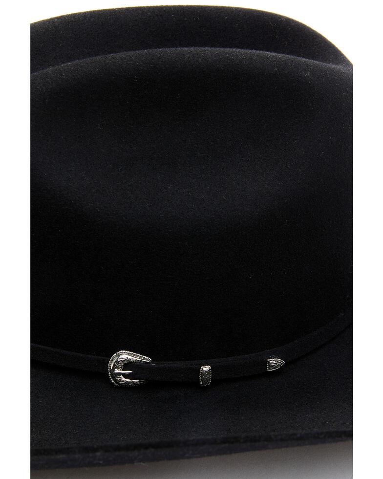 Cody James Men's Black 5X Colt Fur-Felt Western Hat , Black, hi-res