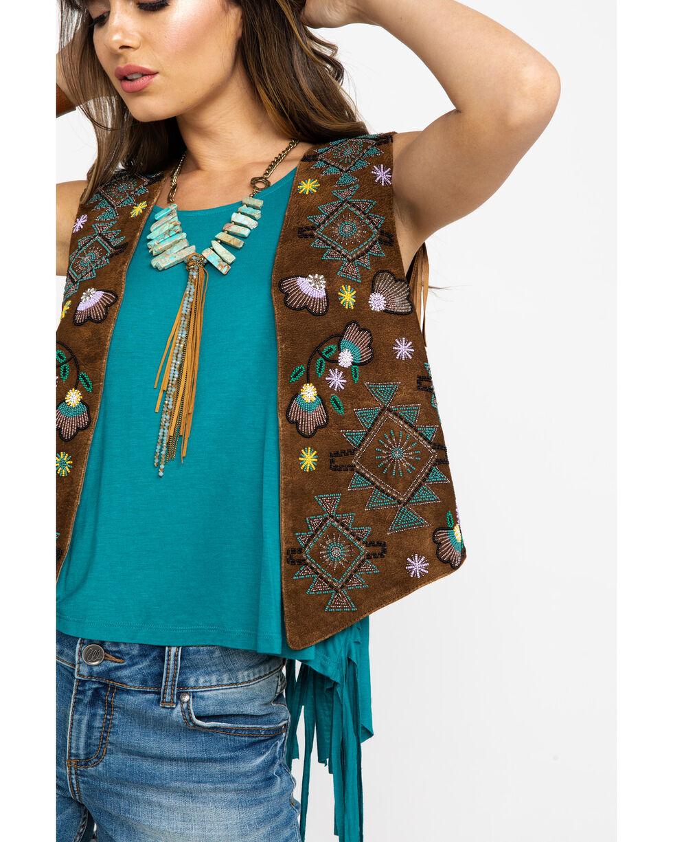 Tasha Polizzi Women's Marlowe Vest, Brown, hi-res