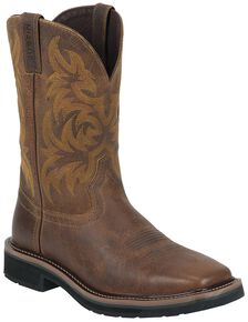 Men S Square Toe Boots Country Outfitter