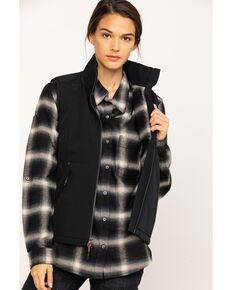 Dovetail Women's  Zip Front Vest , Black, hi-res