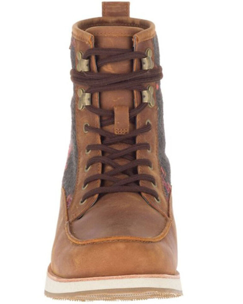 Merrell Women's Taupe Roam Lace-Up Boots - Moc Toe, Taupe, hi-res