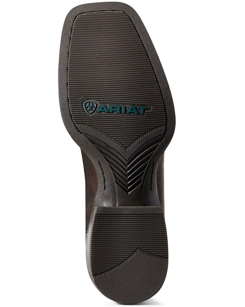 Ariat Men's Sport Ranger Barley Western Boots - Wide Square Toe, Brown, hi-res
