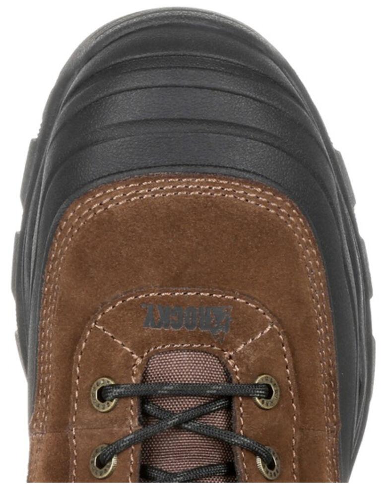 Rocky Men's Multi-Trax Waterproof Outdoor Boots - Soft Toe, Brown, hi-res