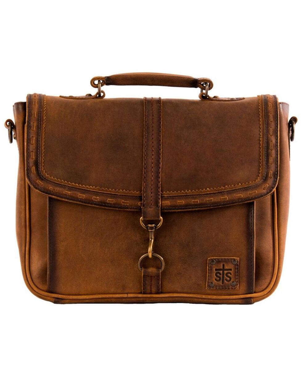STS Ranch wear Women's Laptop Portfolio Bag, Brown, hi-res