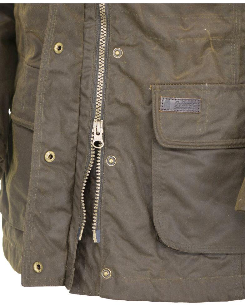 Outback Trading Co. Women's Bronze Adelaide Oilskin Jacket , Bronze, hi-res