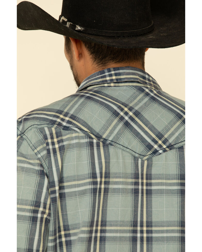 Cody James Men's Thunderstruck Plaid Long Sleeve Western Shirt , , hi-res