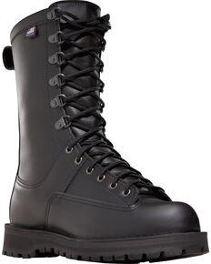 "Danner Unisex Fort Lewis 10"" Insulated Uniform Boots, Black, hi-res"