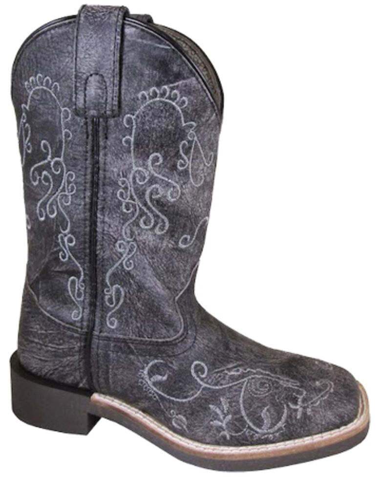 Smoky Mountain Boys' Marilyn Western Boots - Square Toe, Brown, hi-res