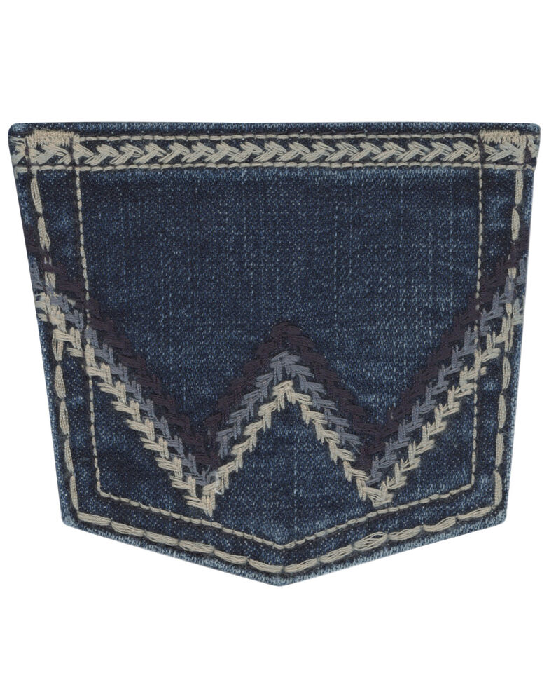 Wrangler Girls' Davis Ultimate Riding Q-Baby Jeans, Blue, hi-res