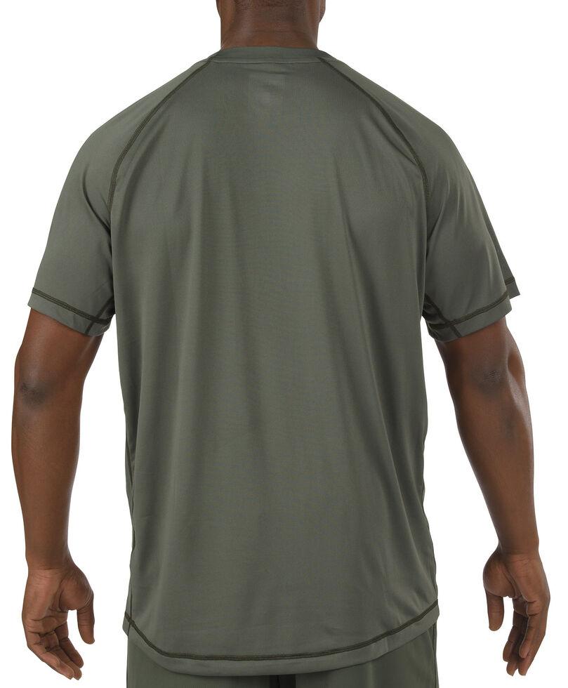 5.11 Tactical Utility PT Shirt - 3XL, Green, hi-res