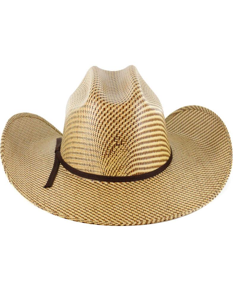 Cody James Men's 20X Tri Color Weave Straw Hat, Multi, hi-res