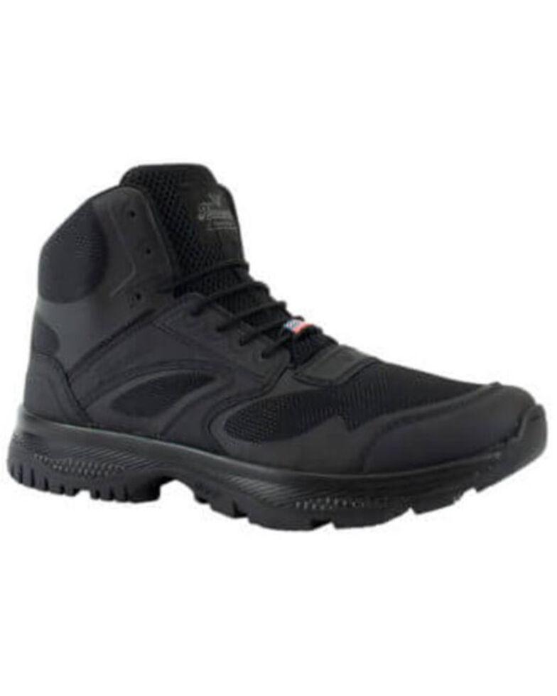 Thorogood Men's Lightweight Tactical Work Boots - Soft Toe, Black, hi-res