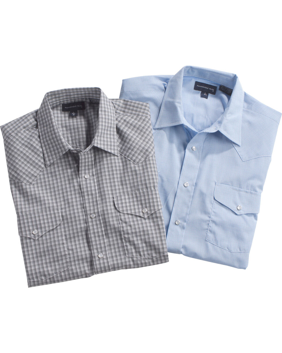 Panhandle Men's Assorted Short Sleeve Shirt - Big & Tall, Multi, hi-res