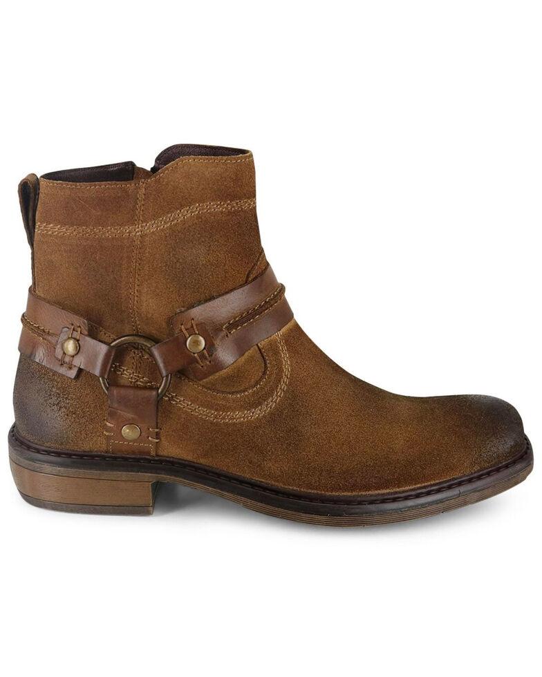Evolutions Men's Humbolt II Zipper Boots - Square Toe, Tan, hi-res