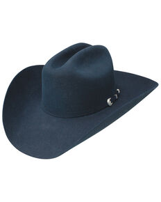 Resistol Men's Navy 6X Midnight Western Felt Hat , Navy, hi-res