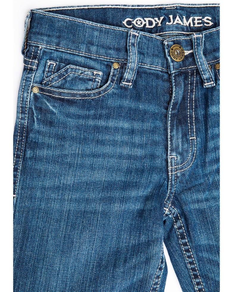 Cody James Boys' 4-8 Stone Cold Stretch Slim Straight Jeans , Blue, hi-res