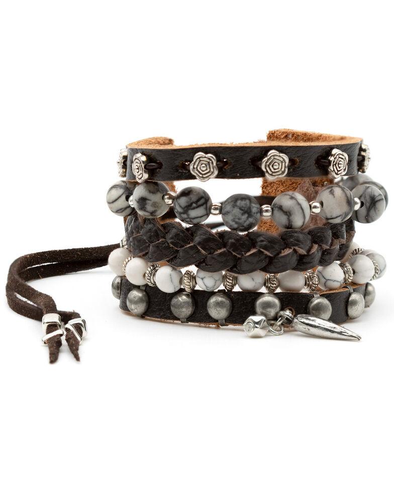 Cowgirl Confetti Women's Treasure Trove Cuff, Black, hi-res