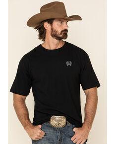 Cinch Men's Black Lead Logo Graphic T-Shirt , Black, hi-res