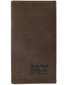 Timberland Men's Brown Long Bifold Rodeo Leather Wallet, Brown, hi-res