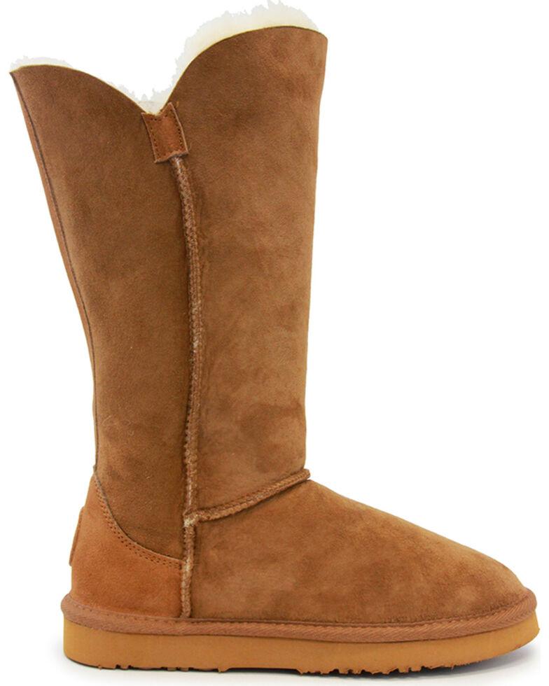 "Lamo Footwear Women's Liberty 12"" Boots , Chestnut, hi-res"
