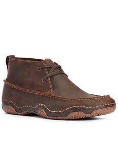 Ariat Men's Venturer Casual Shoes - Moc Toe, Brown, hi-res