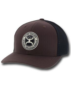 HOOey Men's Brown Guadalupe Trucker Cap, Brown, hi-res