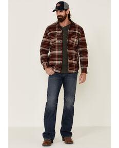 Dakota Grizzly Men's Ink Hogan Plaid Long Sleeve Western Flannel Shirt , Red, hi-res