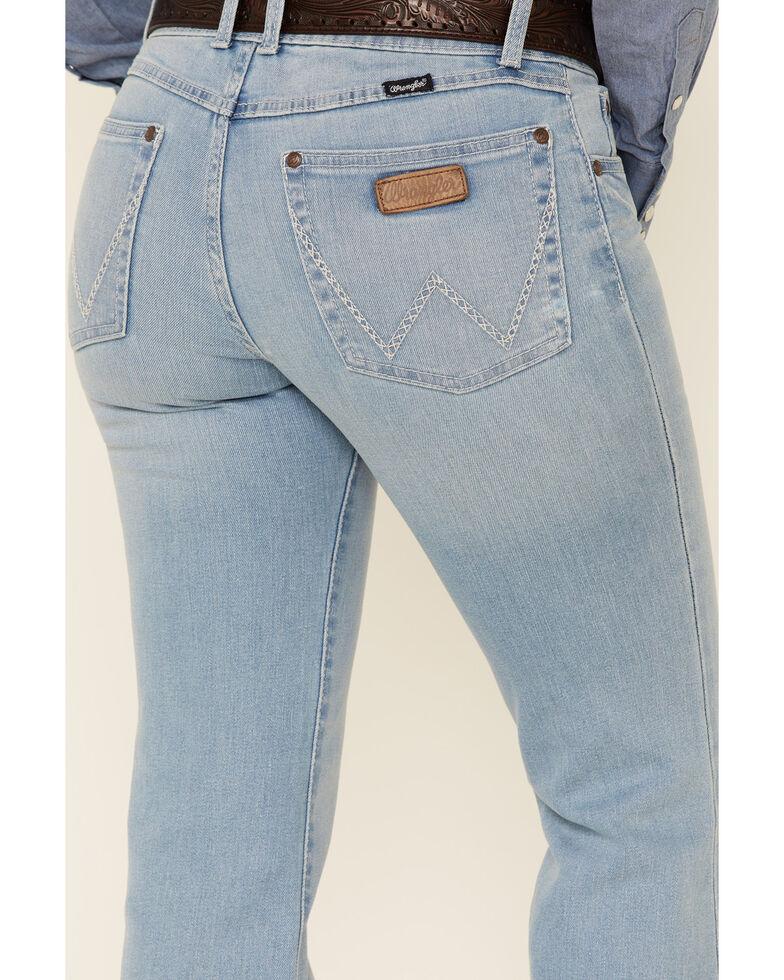 Wrangler Women's Mae Trouser Jeans, Blue, hi-res