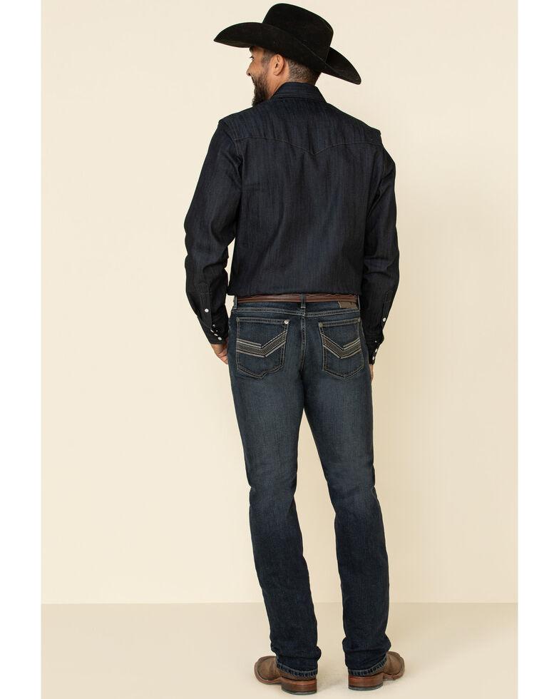 Wrangler 20X Men's No. 44 Ink Blue Stretch Slim Straight Jeans , Blue, hi-res