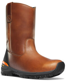 LaCrosse Men's Stronghold Western Work Boots - Soft Toe, Brown, hi-res