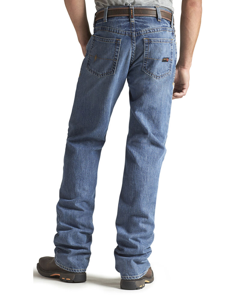Ariat Denim Jeans - M3 Flint Loose Fit - Flame Resistant, Denim, hi-res