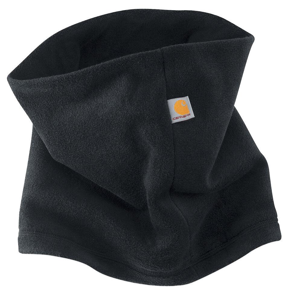 Carhartt Fleece Neck Gaiter, Black, hi-res