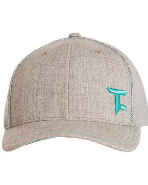 Tuf Cooper Men's Teal Logo Mesh Cap, Grey, hi-res