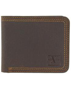 Nocona HD Xtreme Bifold Triple Stitch Wallet, Brown, hi-res