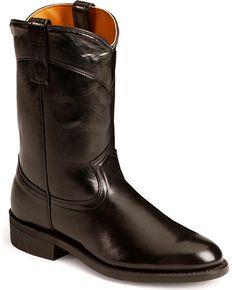 Laredo Roper Work Boots, Black, hi-res