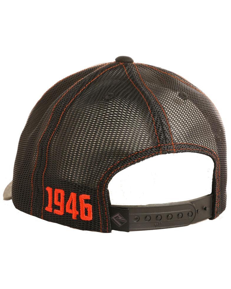 Rock & Roll Denim Men's Camo Print Twill Snap Back Ball Cap , Camouflage, hi-res