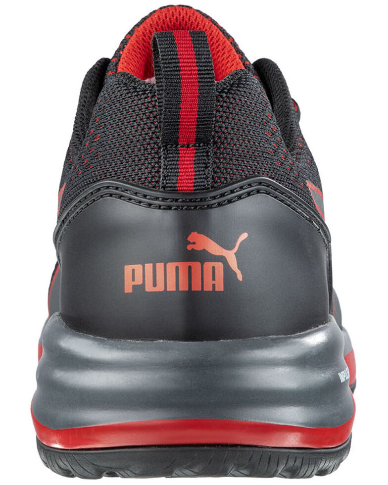Puma Men's Speed Work Shoes - Composite Toe, Black, hi-res