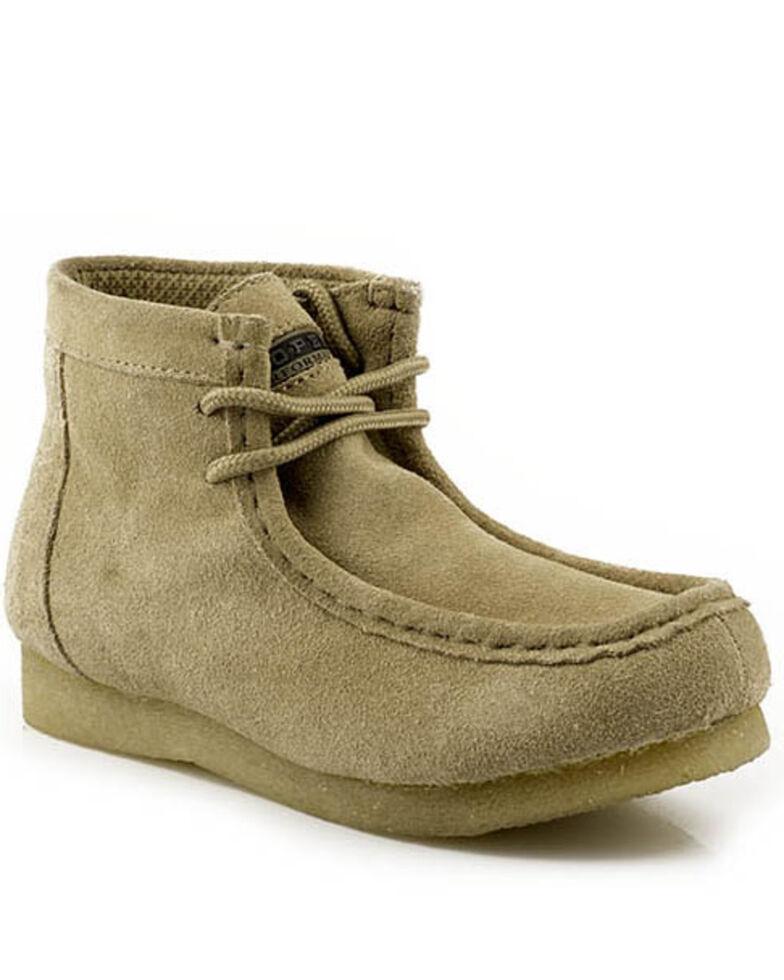 Roper Women's Gum Sole Performace Chukka Boots - Moc Toe, Sand, hi-res