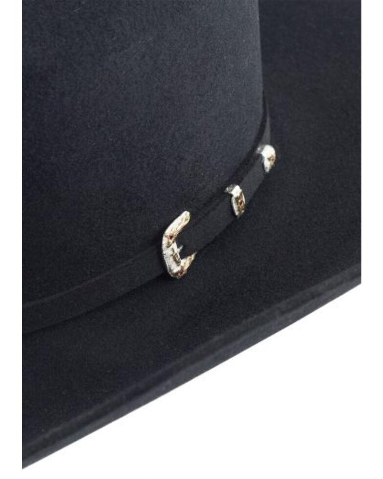 Stetson Men's El Patron Western Hat, Black, hi-res